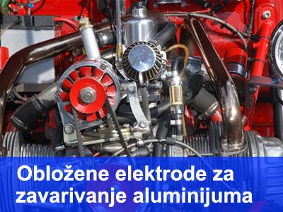 Obložene elektrode za zavarivanje aluminijuma