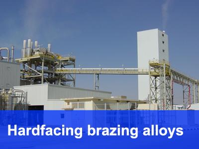 hardfacing brazing alloys