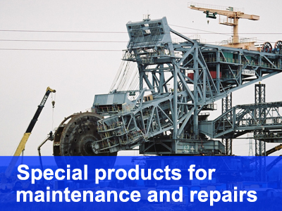 Special products for Maintenance and Repairs