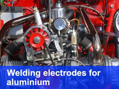 welding electrodes for aluminium