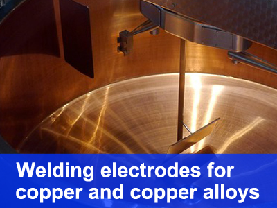 welding electrodes for copper and copper alloys